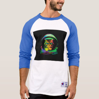 Hipster cat - Cat astronaut - space cat T-Shirt