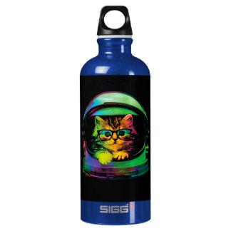 Hipster cat - Cat astronaut - space cat Water Bottle