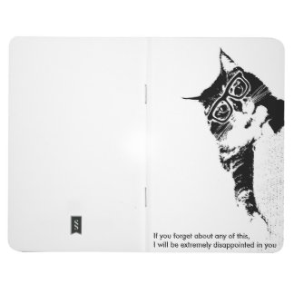 Hipster Cat Pocket Notebook Journals