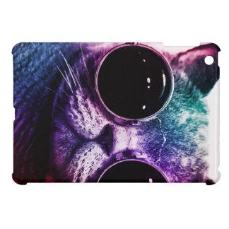 Hipster Cat Pop Art iPad Mini Cases