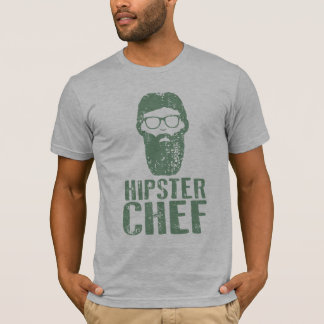 Hipster Chef T-Shirt