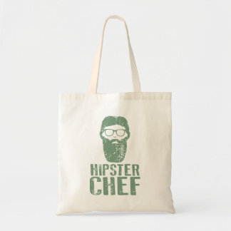 Hipster Chef Tote Bag