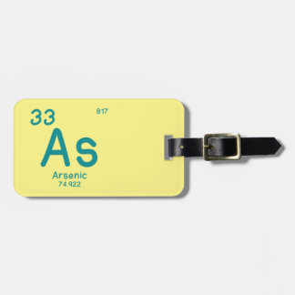 Hipster Chemistry Luggage Tag