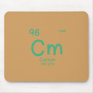 Hipster Chemistry Mouse Pad