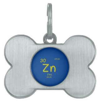 Hipster Chemistry Pet Tag