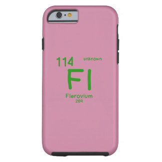 Hipster Chemistry Tough iPhone 6 Case