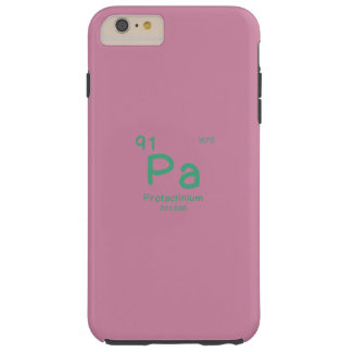 Hipster Chemistry Tough iPhone 6 Plus Case