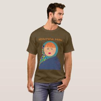Hipster Chic Mom Funny Matryoshka Russian Doll T-Shirt