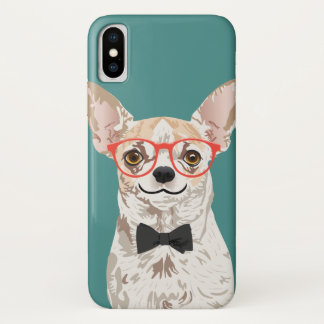 Hipster Chihuahua Phone Case