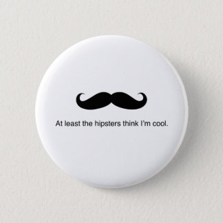 Hipster Cool 2 Inch Round Button