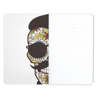 Hipster Day of the Dead Skull Journals
