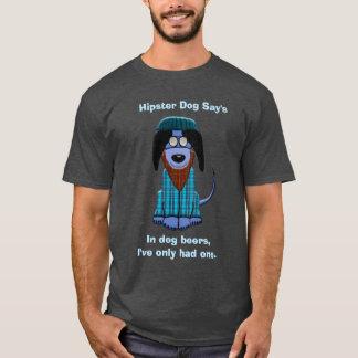 Hipster Dog Says T-Shirt