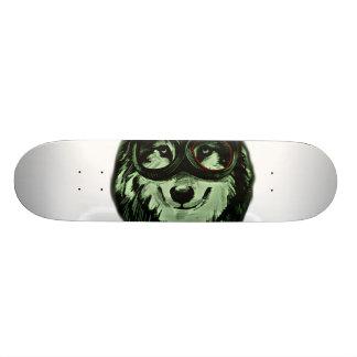 Hipster Dog Style Skate Board Deck