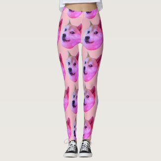Hipster doge tights