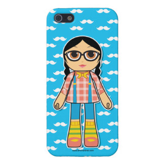 Hipster Doll Cell Phone Case iPhone 5/5S Case