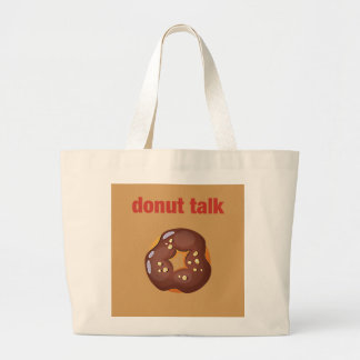 Hipster Don't Large Tote Bag