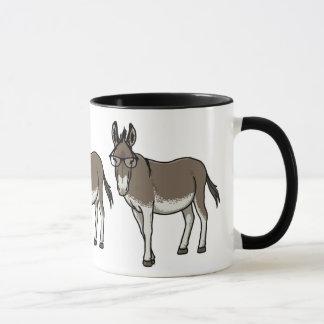 Hipster Donkey Mug
