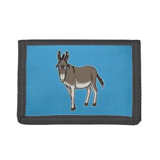 Hipster Donkey Tri-fold Wallets