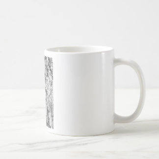 hipster effect texture coffee mug