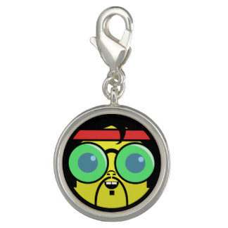 Hipster Face Charms