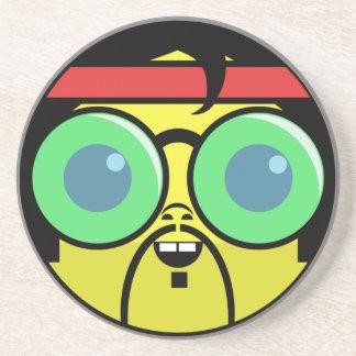 Hipster Face Coaster