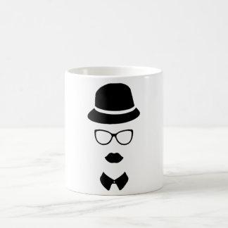 Hipster Face Mug