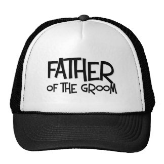 Hipster Father of the Groom Mesh Hats