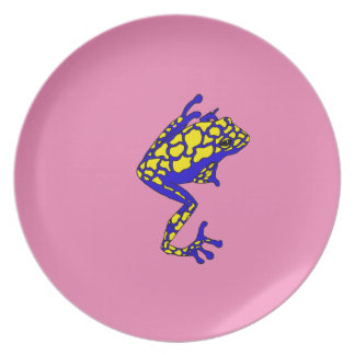 Hipster Frog Plate