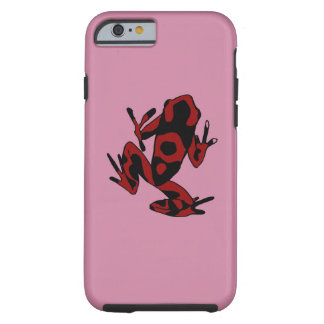 Hipster Frog Tough iPhone 6 Case