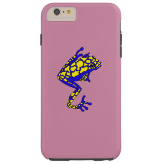 Hipster Frog Tough iPhone 6 Plus Case