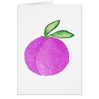 Hipster Fruit Card