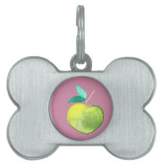 Hipster Fruit Pet Tag