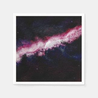 Hipster Galaxy Universe Napkin