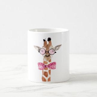 Hipster Girafe T-Shirt Coffee Mug