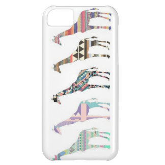 Hipster Giraffe iPhone Case