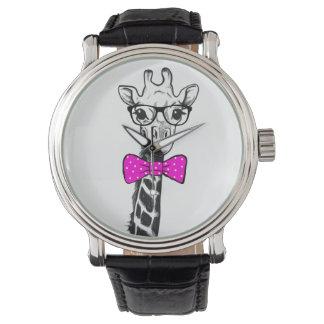 Hipster Giraffe Watch