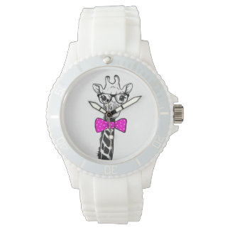 Hipster Giraffe Watch