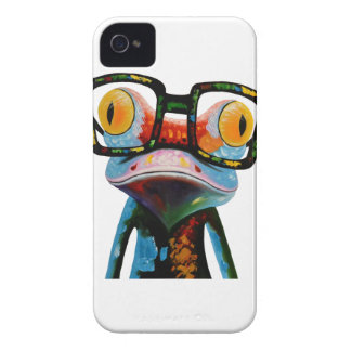 Hipster Glasses Frog iPhone 4 Covers