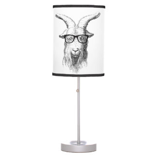 Hipster Goat Table Lamp