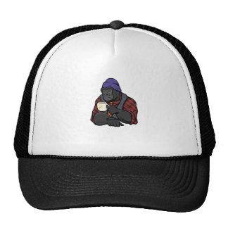 Hipster Gorilla Trucker Hat
