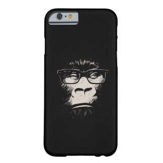 Hipster Gorilla With Glasses Barely There iPhone 6 Case