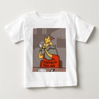 Hipster Hazelnut latte Baby T-Shirt