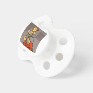 Hipster Hazelnut latte Pacifier