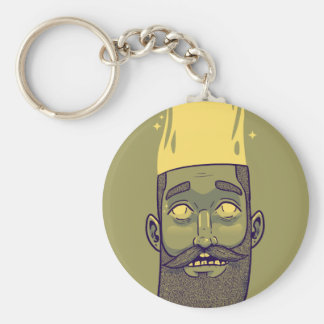 Hipster Keychain