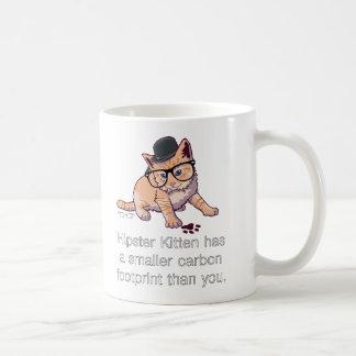 Hipster Kitten Mug