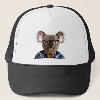 Hipster Koala Trucker Hat