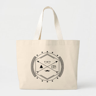 Hipster-like Large Tote Bag