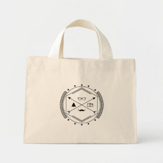 Hipster-like Mini Tote Bag