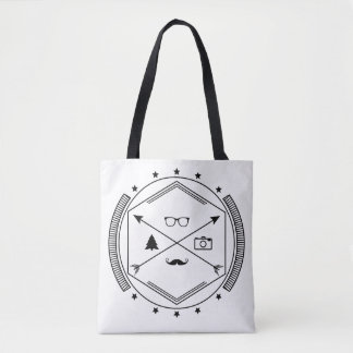 Hipster-like Tote Bag