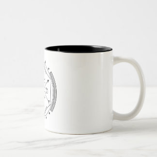 Hipster-like Two-Tone Coffee Mug